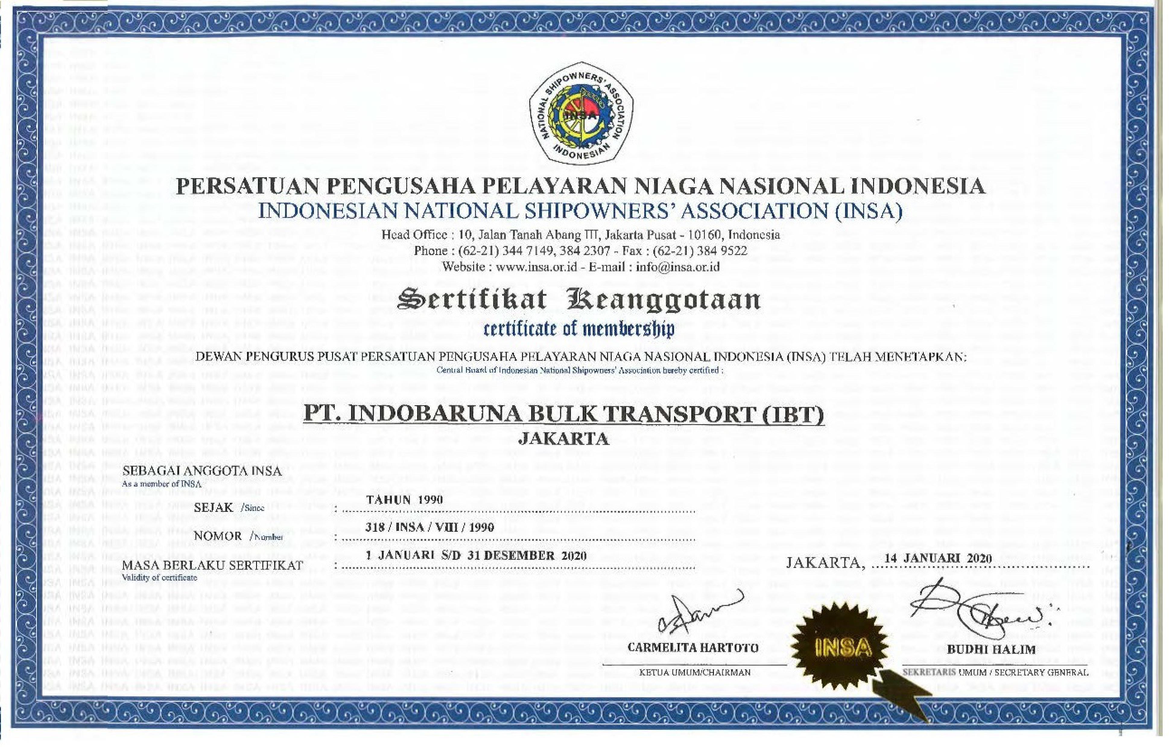 Image Certificate